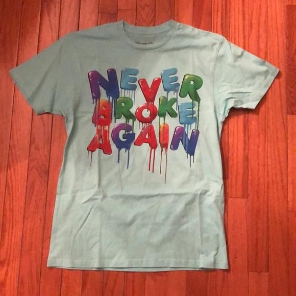 4ce10846938b Brand New NBA Young Boy Size Medium T-Shirt. NWT. Never Broke Again